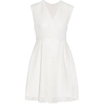 《セール開催中》SANDRO レディース ミニワンピース&ドレス ホワイト 3 ポリエステル 100%