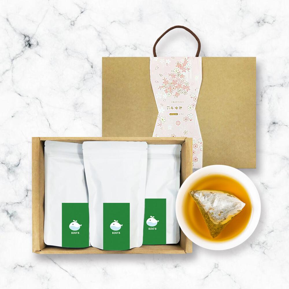 koos-清韻金萱烏龍茶-禮盒組1盒(3袋1盒)