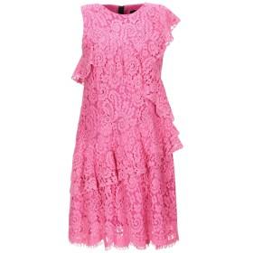 《セール開催中》MARCO BOLOGNA レディース ミニワンピース&ドレス フューシャ 40 コットン 35% / ラミー 33% / ナイロン 32%