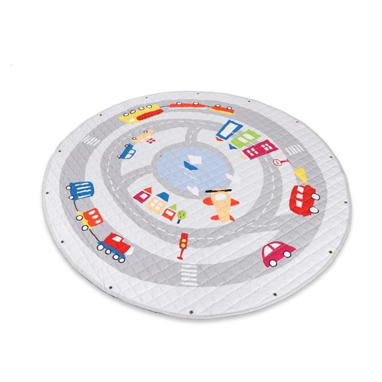 美國asweets - 兒童遊戲地墊(棉)-小汽車-150x150CM