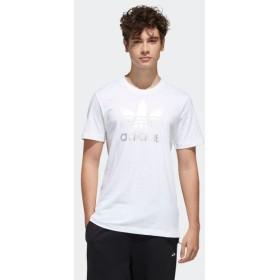 返品可 アディダス公式 ウェア トップス adidas トレフォイル フォイル Tシャツ