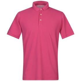 《セール開催中》ORIGINAL VINTAGE STYLE メンズ ポロシャツ フューシャ M コットン 100%
