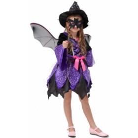 ハロウィンウエア キッズ服装 コスプレ 仮装 可愛く変身 プリンセス シャーマン ワンピース coypt01