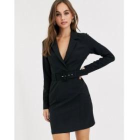 ミス セルフリッジ Miss Selfridge レディース ワンピース ワンピース・ドレス tux dress in black ブラック