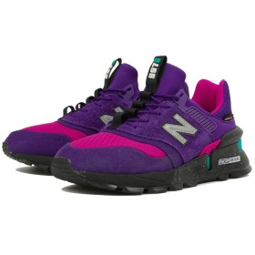 (NB公式)【ログイン購入で最大8%ポイント還元】 ユニセックス MS997 SA (パープル) スニーカー シューズ 靴 ニューバランス newbalance
