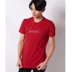 [マルイ]【セール】ボーダーロゴ半袖Tシャツ・カットソー/ベネトン メンズ(UNITED COLORS OF BENETTON)