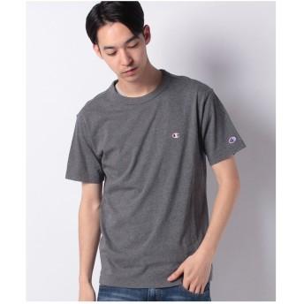 JEANS MATE 【CHAMPION】ワンポイントTシャツ(チャコールグレー)