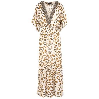 《セール開催中》MIRIAM STELLA レディース ロングワンピース&ドレス サンド XXL シルク 50% / レーヨン 50%