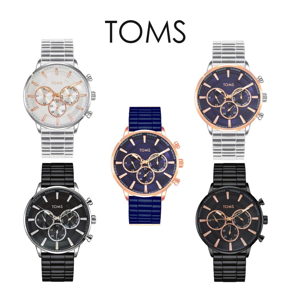 TOMS 簡約設計三眼手錶(1973)