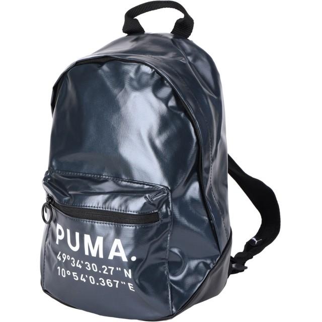《期間限定セール開催中!》PUMA レディース バックパック&ヒップバッグ ダークブルー ポリエステル 80% / ポリウレタン 20% Prime Time Archive Backpack X mas