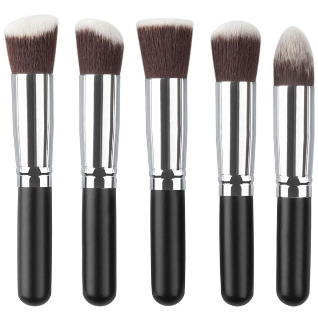 化粧道具、10個の化粧ブラシセット5個の大きな5個の小さな化粧ブラシ