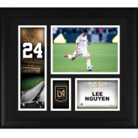 Fanatics Authentic ファナティクス オーセンティック スポーツ用品  Fanatics Authentic Lee Nguyen LAFC Framed 15 x 17 Player Collag