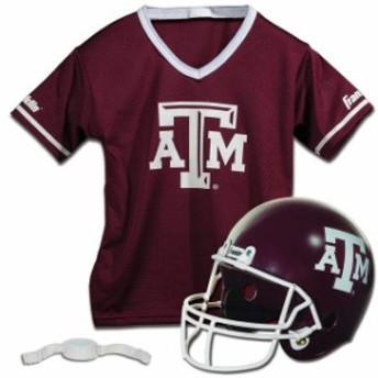 Franklin Sports フランクリン スポーツ アクセサリー  Franklin Sports Texas A&M Aggies Youth Helmet and Jersey Set