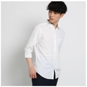 【ザ ショップ ティーケー/THE SHOP TK】 切替パナマシャツ