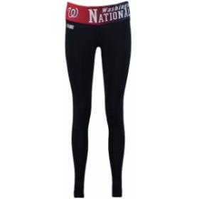 Concepts Sport コンセプト スポーツ スポーツ用品  Concepts Sport Washington Nationals Womens Black Dynamic Leggings