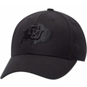 Top of the World トップ オブ ザ ワールド スポーツ用品  Top of the World Colorado Buffaloes Black NCAA Dynasty Memory Fit Fitted