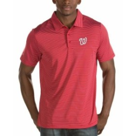 Antigua アンティグア シャツ ポロシャツ Antigua Washington Nationals Red Quest Desert Dry Polo