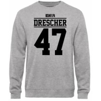 NFL Pro Line by Fanatics Branded エヌエフエル プロ ライン スポーツ用品  Justin Drescher NFLPA Player Issued Sweatshirt - Ash