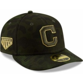 New Era ニュー エラ スポーツ用品  Cleveland Indians New Era 2019 MLB Armed Forces Day On-Field Low Profile 59FIFTY Fitted Hat -