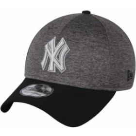 New Era ニュー エラ スポーツ用品  New Era New York Yankees Heathered Gray/Black 39THIRTY Shadow Tech Color Pop Flex Hat