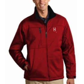 Antigua アンティグア スポーツ用品  Antigua Harvard Crimson Crimson Traverse Full-Zip Jacket