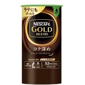 (まとめ)ネスレ ゴールドブレンドコク深めエコシス 105g【×5セット】