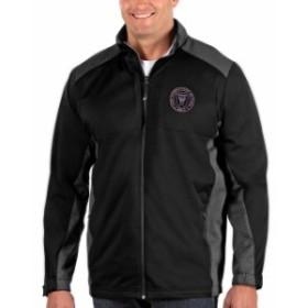 Antigua アンティグア アウターウェア ジャケット/アウター Antigua Inter Miami CF Black Big & Tall Revolve Jacket