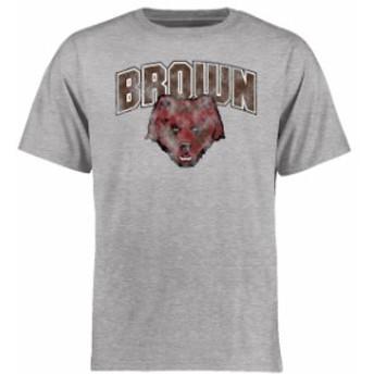 Fanatics Branded ファナティクス ブランド スポーツ用品  Brown Bears Ash Big & Tall Classic Primary T-Shirt