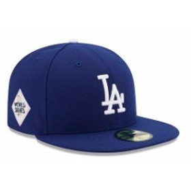 New Era ニュー エラ スポーツ用品  New Era Los Angeles Dodgers Royal 2017 World Series Bound Side Patch 59FIFTY Fitted Hat