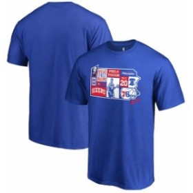 Fanatics Branded ファナティクス ブランド スポーツ用品  Fanatics Branded Markelle Fultz Philadelphia 76ers Royal Player State T-S