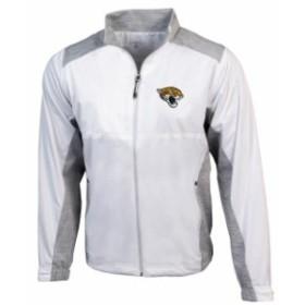 Antigua アンティグア スポーツ用品  Antigua Jacksonville Jaguars White Revolve Full-Zip Jacket