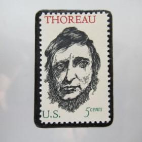 アメリカ 切手ブローチ5505