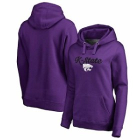 Fanatics Branded ファナティクス ブランド スポーツ用品  Fanatics Branded Kansas State Wildcats Womens Purple Freehand Pullover Ho