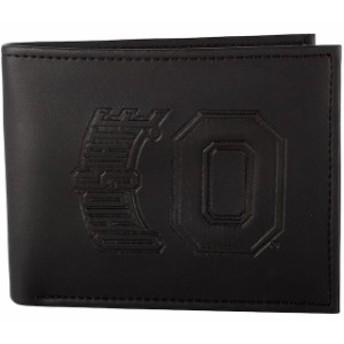 Evergreen Enterprises エバーグリーン エンタープライズ スポーツ用品  Ohio State Buckeyes Black Hybrid Bi-Fold Wallet
