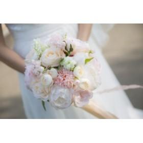 花束 造花ブーケ バラ ウェディング ブライダル 花嫁 新婦 結婚式 披露宴 二次会 海外ウェディング 前撮り フォトウェディング