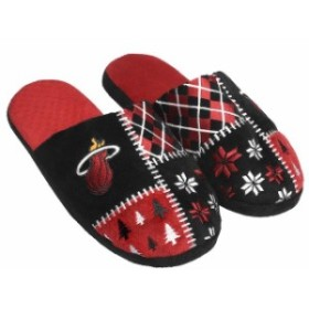 Forever Collectibles フォーエバー コレクティブル スポーツ用品  Miami Heat Ugly Sweater Slippers