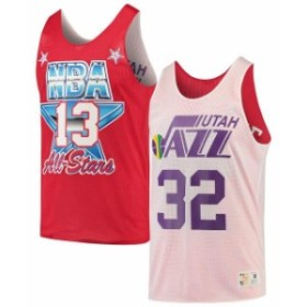 Mitchell & Ness ミッチェル アンド ネス スポーツ用品  Mitchell & Ness Karl Malone Utah Jazz White/Red All-Star Game Reversible Me