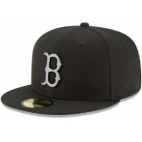 New Era ニュー エラ スポーツ用品  New Era Boston Red Sox Black Sleeked Finish 59FIFTY Fitted Hat