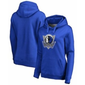 Fanatics Branded ファナティクス ブランド スポーツ用品  Fanatics Branded Dallas Mavericks Womens Blue Primary Logo Pullover Hoodi