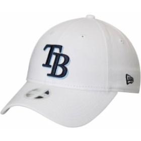 New Era ニュー エラ スポーツ用品  New Era Tampa Bay Rays Womens White Preferred Pick 9TWENTY Adjustable Hat