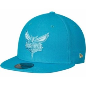 New Era ニュー エラ スポーツ用品  New Era Charlotte Hornets Teal Essential Black Label Series 59FIFTY Fitted Hat