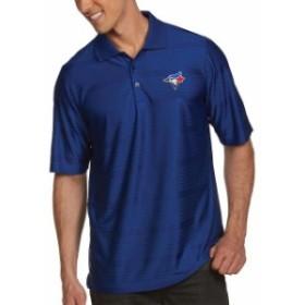 Antigua アンティグア シャツ ポロシャツ Antigua Toronto Blue Jays Royal Illusion Polo