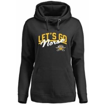 Fanatics Branded ファナティクス ブランド スポーツ用品  Northern Kentucky University Norse Womens Black Lets Go Pullover Hoodie