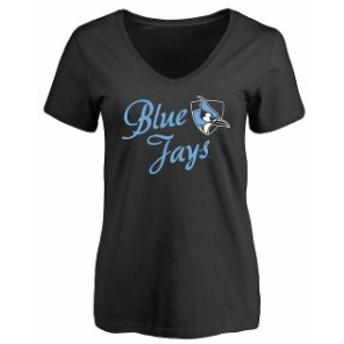 Fanatics Branded ファナティクス ブランド スポーツ用品  Johns Hopkins Blue Jays Womens Black Dora T-Shirt