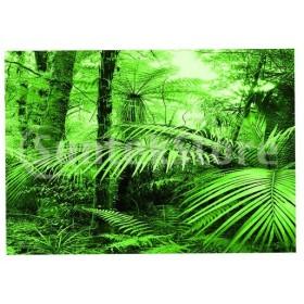 自己粘着性の背景水槽ステッカー装飾雨林パターン水族館ステッカー壁紙装飾