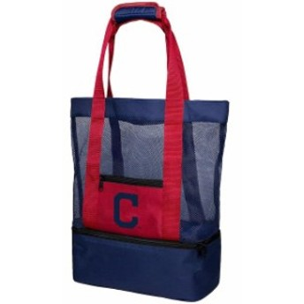 Forever Collectibles フォーエバー コレクティブル スポーツ用品  Cleveland Indians Mesh Cooler Beach Tote Bag