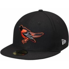 New Era ニュー エラ スポーツ用品  New Era Baltimore Orioles Black Cooperstown Collection Wool 59FIFTY Fitted Hat
