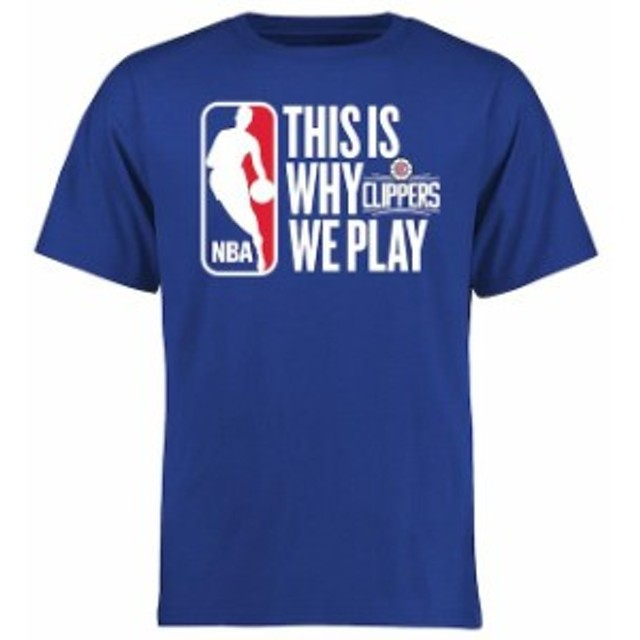 Fanatics Branded ファナティクス ブランド スポーツ用品  LA Clippers Royal This Is Why We Play T-Shirt