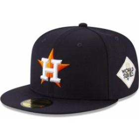 New Era ニュー エラ スポーツ用品  New Era Houston Astros Navy 2017 World Series Wool 59FIFTY Fitted Hat