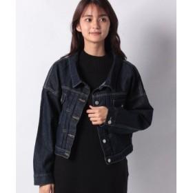 (KOBE LETTUCE/神戸レタス)バックボタン付きゆるジャケット [K829]/レディース インディゴ